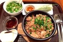【Nセット】鶏肉と生姜の焼きなべごはん コム・ガー・タイ・カム