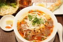 【Fセット】ピリ辛牛煮込みスープ麺 ブン・ボー・フエ