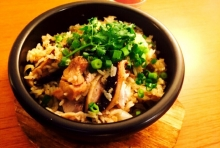 栄養たっぷり!鶏肉と生姜の焼きなべごはん