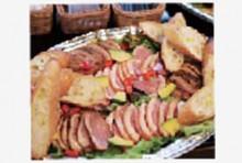 【スタンダードプラン】リスカフェサラダ、前菜2〜3種、パスタorお米、メイン肉、デザート