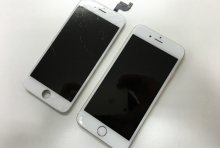 【iPhone6Sフロントガラス割れ修理】