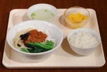 【ランチ】Fセット:シャンカウスェー(トマトソース麺)