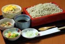 蕎麦御膳(せいろ・小丼・小鉢)