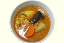 【人気】ティー・ゾン・ペー・カラー・ヒン(豆と野菜のスープ煮込)