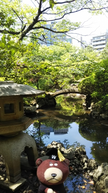 大隈庭園橋