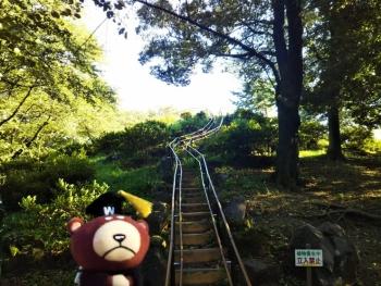 箱根山山頂へ
