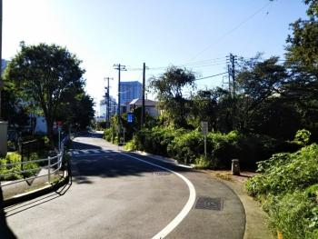 箱根山出て事務所へ