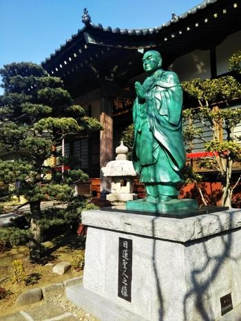 法輪寺日蓮像