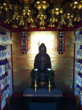 放生寺健脚の神