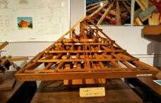 木組み穴八幡屋根構造