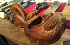木組み墨壺