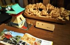 木組み彫刻