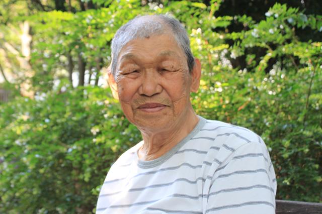 髙田馬場にお世話になって約50年かな?しわしわ笑顔が歴史を表す黄さん