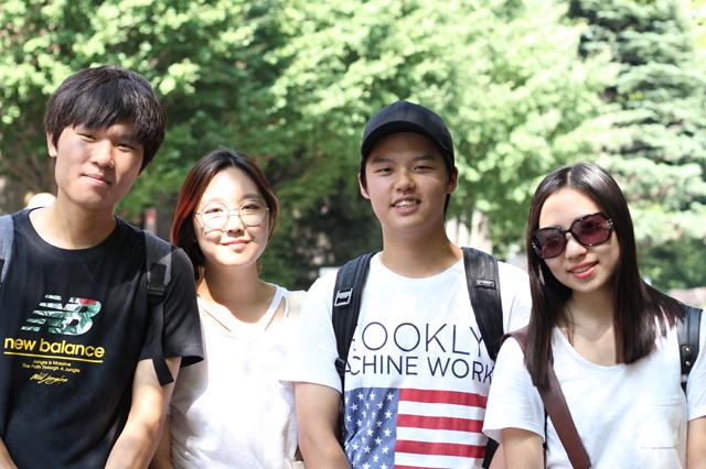 20160818韓国から早稲田観光☆イムさんとその仲間達