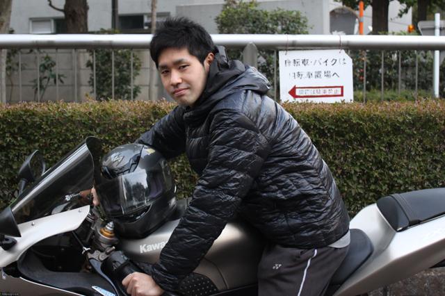 20170218_バイクに乗ってキメッ☆公哉さん