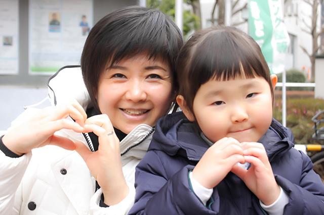 20170425_あい子お母さんと一緒に♡ちはるちゃん