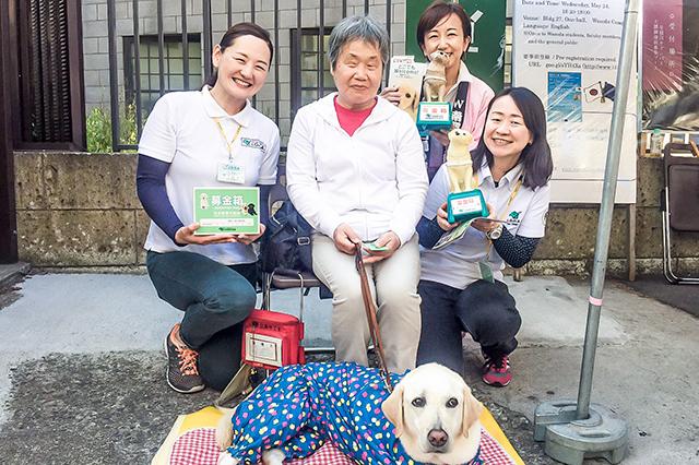 20170601_日本盲導犬協会の皆さん&盲導犬アイク君