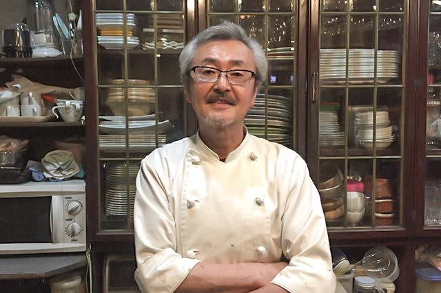 20170716_老舗洋食レストラン☆「イル・デ・パン」のシェフ