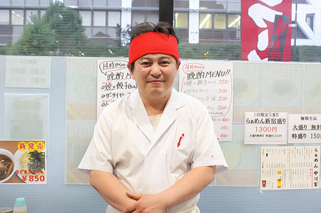 20170708_昔ながらの醤油ラーメンが美味☆「らぁめん 中川家」の職人さん