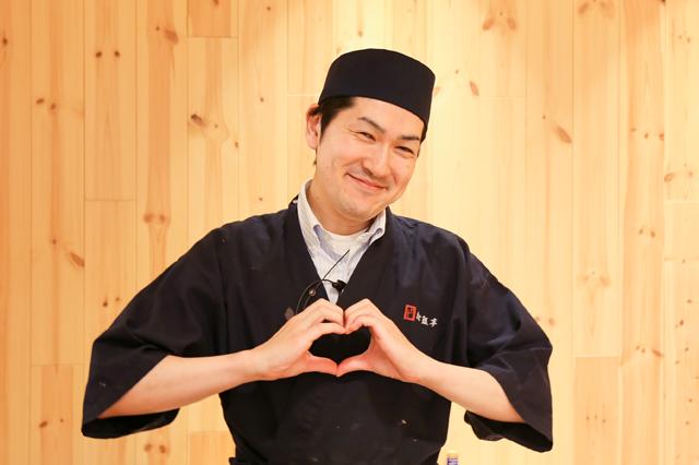 吟味された新鮮な食材が堪能できる「松銀亭」の料理人