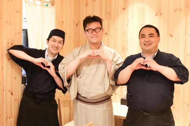 20170721_三遊亭金朝さんと一緒に☆松銀亭の料理人