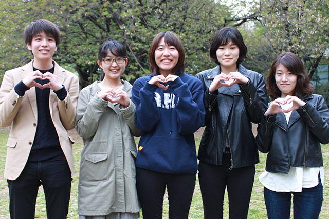 早稲田大学研究室のGTKグループの皆さん、お花見楽しいんでましたね
