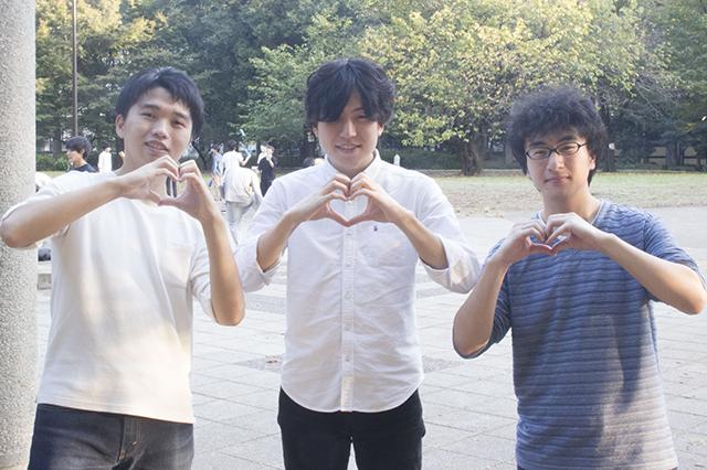 Rei_左から野村さん伊藤さん牧さん@戸山公園