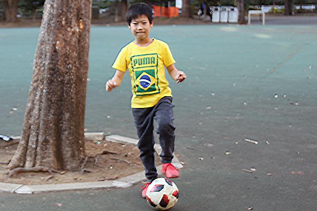 サッカー少年☆きょうちゃん@戸山公園