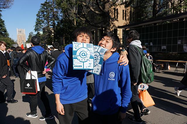 Re11_早稲田大学広告研究会_庶務幹事大西さん&赤石さんDSC08354