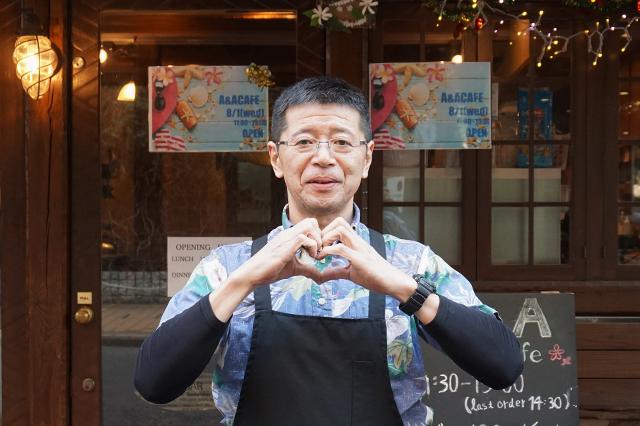 Re_[早大南門通り]A&Aカフェ_店主石井さん
