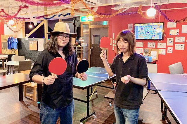 re_さかえ通りの卓球酒場「ぽん蔵」の皆さん