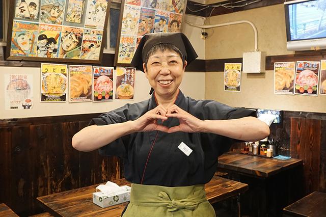 『うだつ食堂』鎌田さん