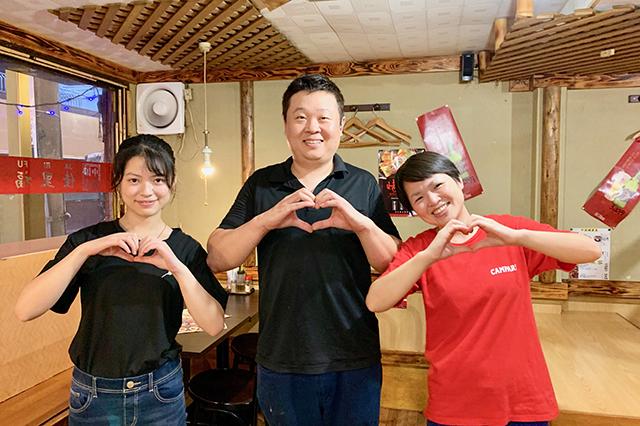 86_5早稲田の中国飯店佳里福の皆さん