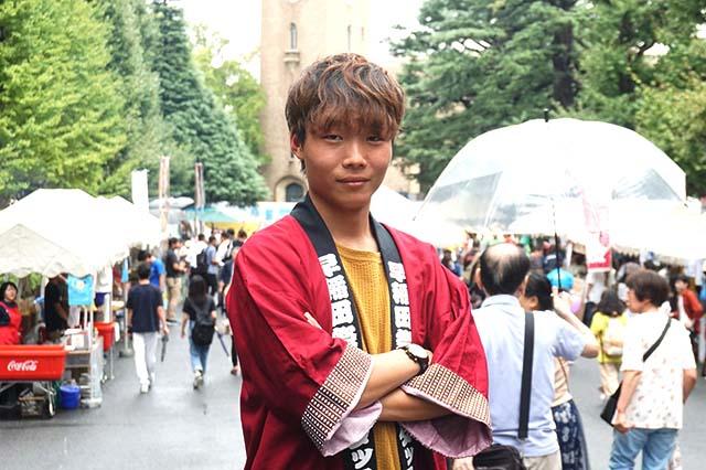 「早稲田祭運営スタッフ2019」 ゆうだいさん