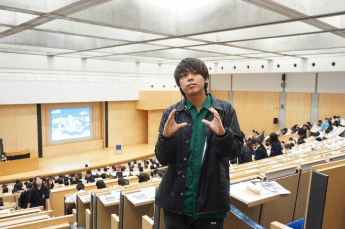 13早大広告研究会_ナカヤマコウセイさん@早稲田祭