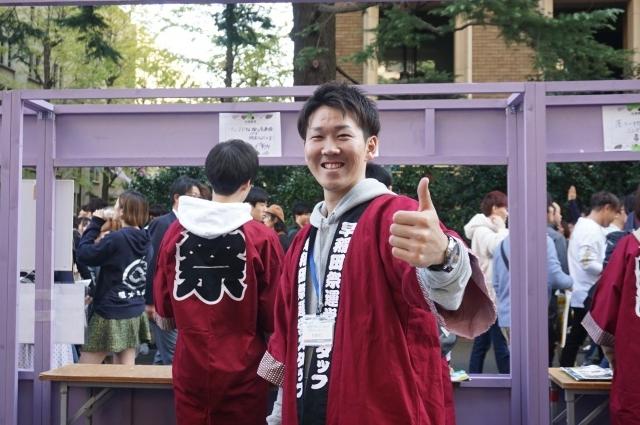 2早稲田祭運営スタッフ2019松橋さんJPG