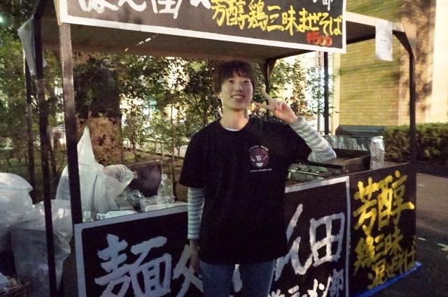 8早稲田大学ラーメン部   サイトウさん@早稲田祭