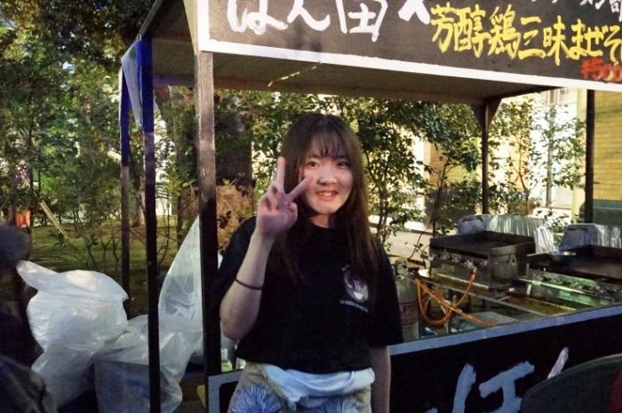 5早稲田大学ラーメン部  オイカワさん@早稲田祭