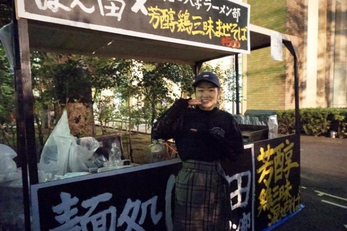 9早稲田大学ラーメン部  オギタさん@早稲田祭