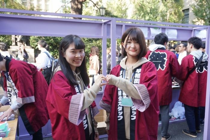 14早稲田祭運営スタッフ2019新屋さん&田村さんJPG