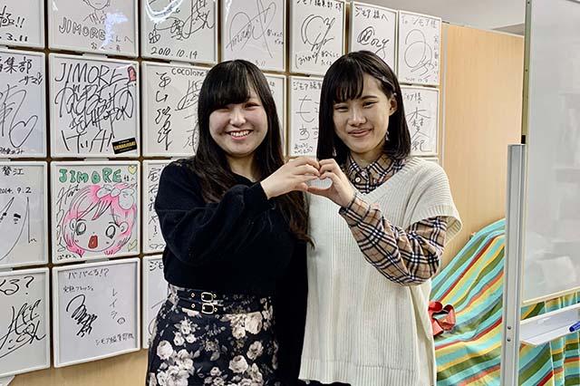 ESP音楽芸能スタッフ科の成田さん&山崎さん