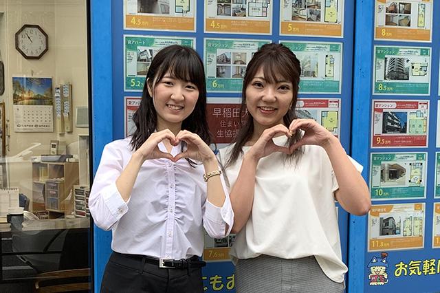 稲門管理高田馬場店_冨田さん&ゆんけるさん
