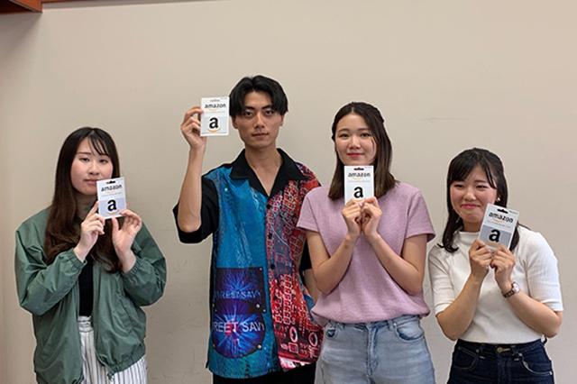 学習院大学澁谷ゼミ_プレゼン優勝チーム6班の皆さん(テーマ:ジモア)